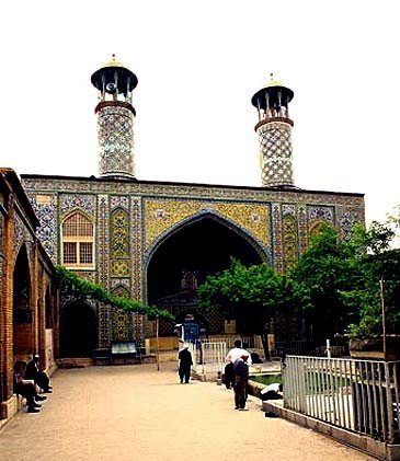 Darol-Ehsan-Sanandaj-Jame-Mosque