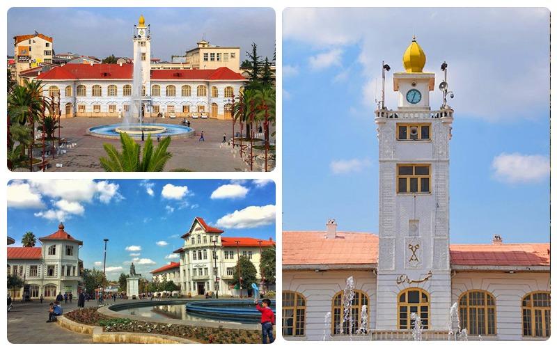 Rasht Municipality Square