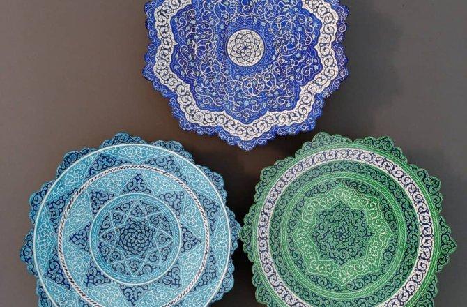 Minakari Enamel Persian Handicrafts